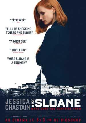 Miss Sloane - Thriller, Drama