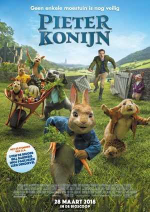Pieter Konijn - Familie, Komedie, Animatie Film