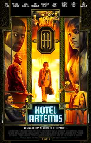 Hotel Artemis - Actie, Politie, Science-Fiction