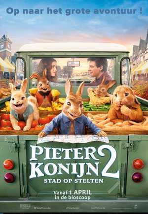 Pieter Konijn 2 : Stad op Stelten - Animatie Film