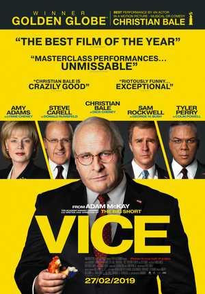 Vice - Biografie, Drama
