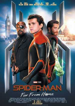 Spider-Man: Far From Home - Actie, Komedie, Avontuur
