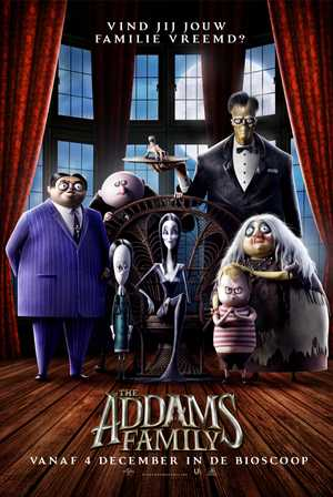 The Addams Family - Familie, Animatie Film