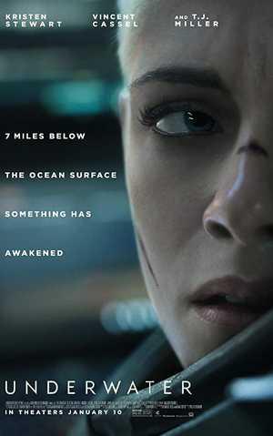 Underwater - Actie, Horror, Drama