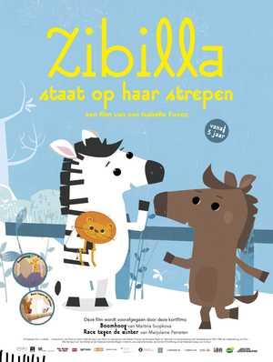 Zibilla staat op haar Strepen - Animatie Film