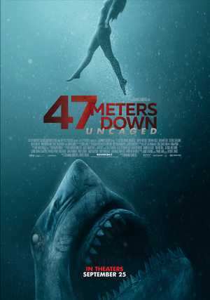 47 Meters Down: Uncaged - Horror, Drama, Avontuur