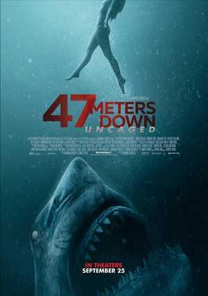 47 Meters Down: Uncaged - Horror, Drama, Avontuur
