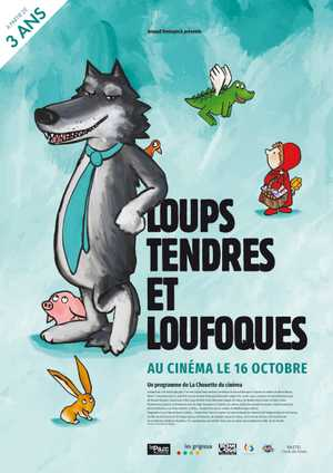 Loups tendres et loufoques - Animatie Film