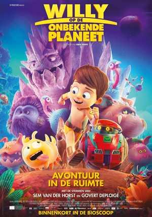 Willy op de onbekende planeet - Animatie Film
