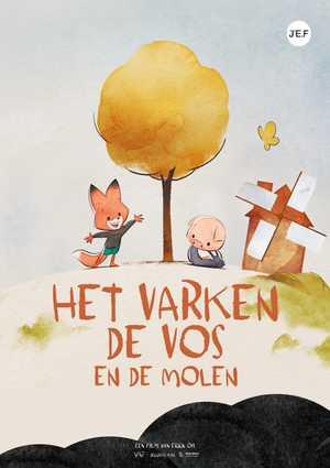 Het Varken, de Vos en de Molen - Animatie Film