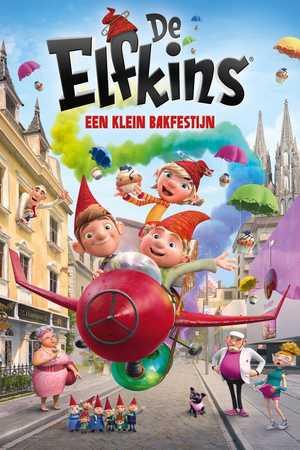 De Elfkins - Een klein bakfestijn - Animatie Film