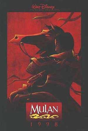 Mulan - Tekenfilm