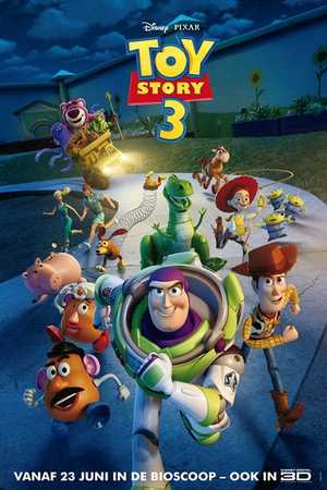 Toy Story 3 - Familie, Komedie, Avontuur, Animatie Film