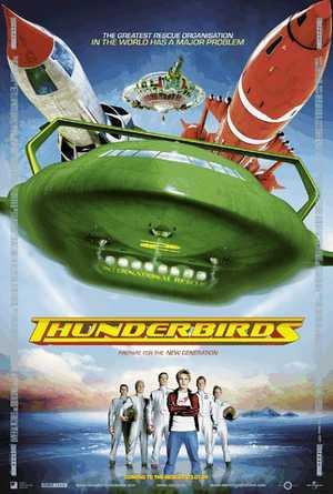 Thunderbirds - Science-Fiction, Animatie Film