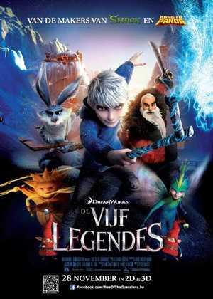 De Vijf Legendes - Animatie Film