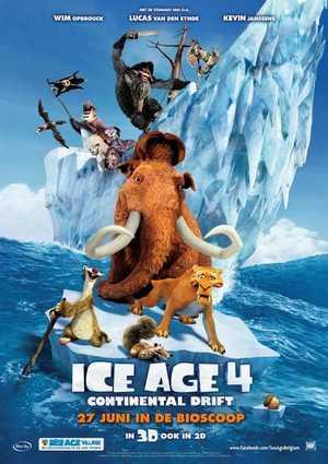 Ice Age 4: Continental Drift - Familie, Komedie, Avontuur, Animatie Film
