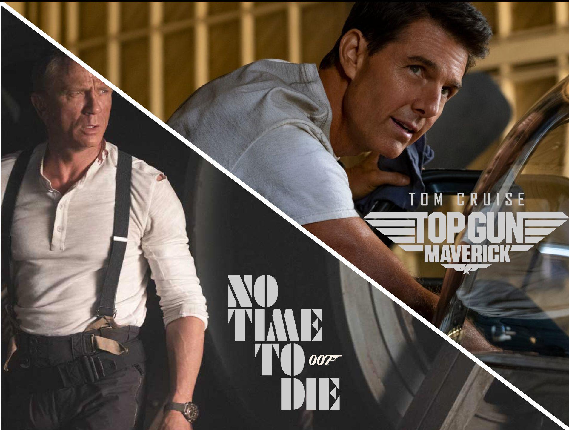 James Bond et Top Gun sortiront le même jour sous la forme d'un unique long métrage