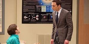 Sheldon Cooper, professeur d'université