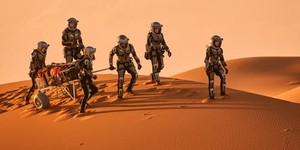Les pieds sur Mars