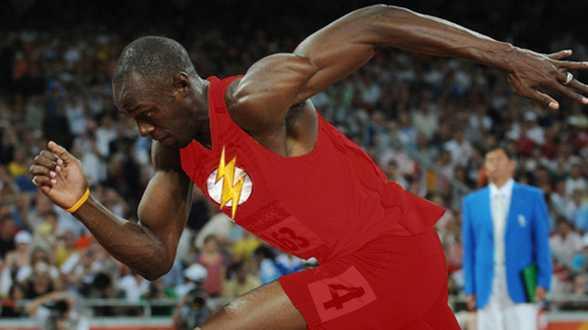 La fusée Usain Bolt voudrait jouer dans The Flash - Actu