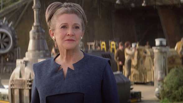 Star Wars the last Jedi ne sera pas afecté par la mort de Carrie Fisher - Actu