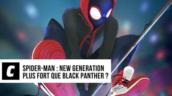 Spider-Man : New Generation plus fort que Black Panther ? - Actu
