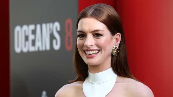 L'actrice oscarisée Anne Hathaway décroche son étoile à Hollywood - Biographie