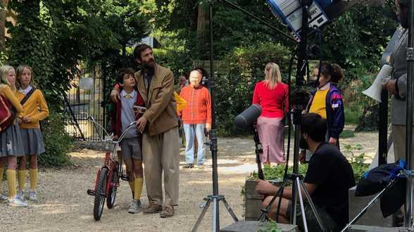 Sur le tournage de Space Boy, film d'aventures familial - Actu