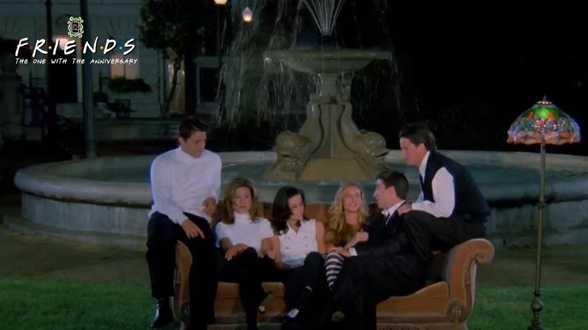 Les 25 ans de FRIENDS célébré au cinéma - Actu