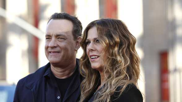 Tom Hanks et son épouse de retour à Los Angeles - Actu