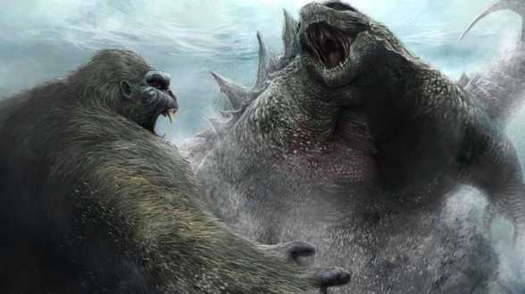 Godzilla vs Kong - First rushes