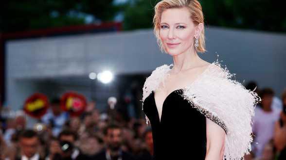 L'actrice Cate Blanchett victime d'un accident de tronçonneuse - Actu