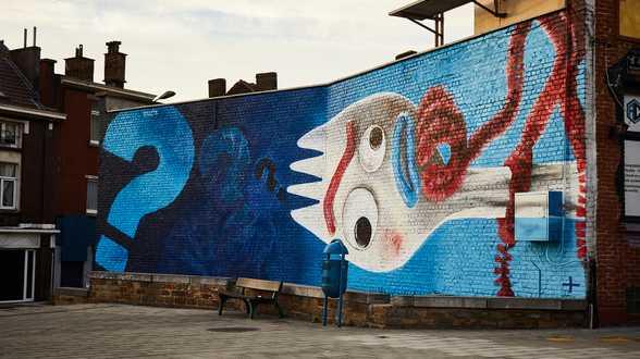 Du Street Art pour célébrer le lancement belge de Disney + - Actu