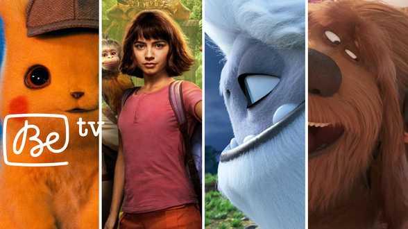 Top 10 des films pour toute la famille sur Be tv - Actu