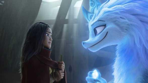 'Raya et le Dernier Dragon' se maintient au box-office grâce à la réouverture des cinémas de Los Angeles - Actu