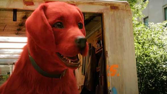 Clifford le gros chien rouge : une première bande-annonce qui vous fera retomber en enfance - Actu