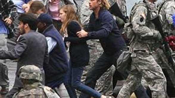 Brad Pitt et les zombies! - Actu