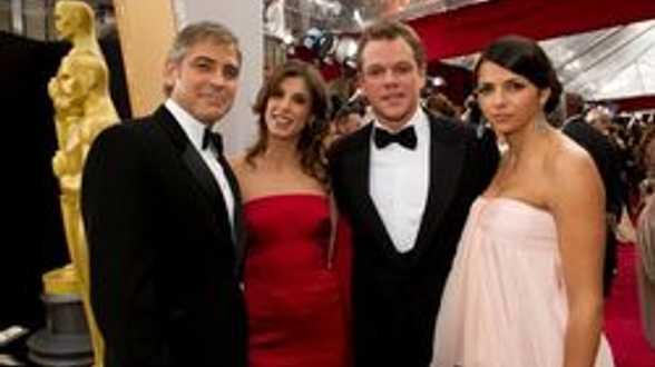George Clooney invoque le Damon! - Actu