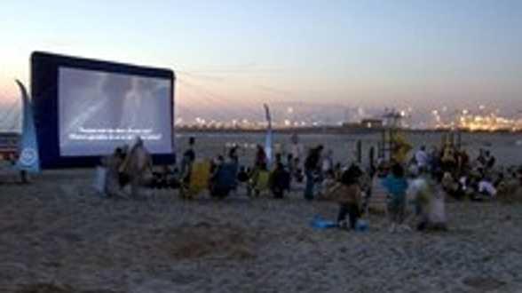 Des films sur la plage à Zeebrugge - Actu