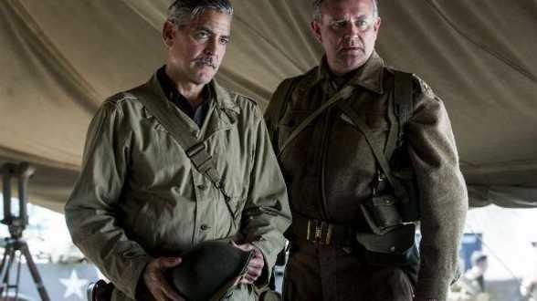 Clooney présente son film Monuments Men à Obama - Actu