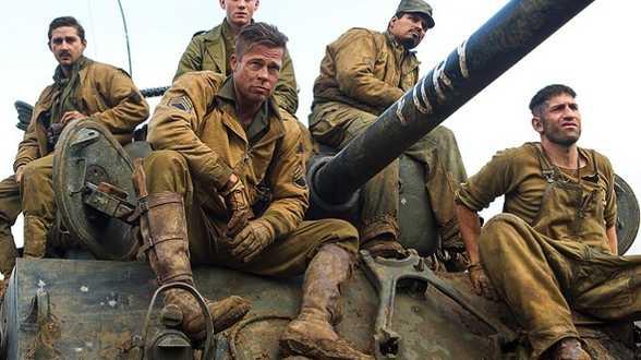 Premières images pour Fury, le prochain film de Brad Pitt (vidéo) - Actu