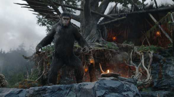 La Planète des singes : l'affrontement... western avec cowboys et singes en motion capture - Chronique