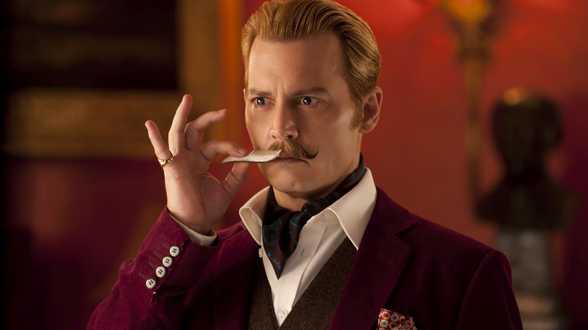 Mortdecai: Johnny Depp verschiet nog maar eens van kleur! - Actueel