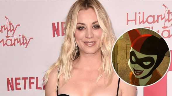 'The Big Bang Theory'- actrice Kaley Cuoco gaat Harley Quin vertolken - Actueel
