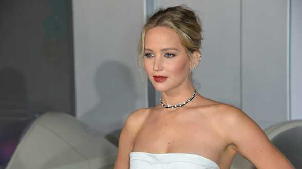 Jennifer Lawrence niet nerveus voor bruiloft - Actueel