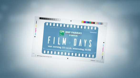 De BNP Paribas Fortis Film Days zijn terug - Actueel