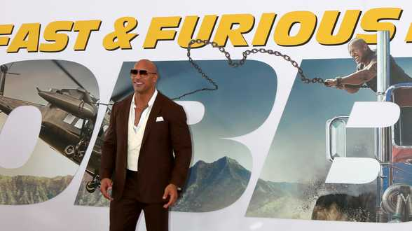 Dwayne The Rock Johnson is best betaalde acteur - Actueel