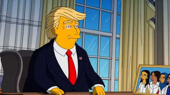 Makers van 'The Simpsons' halen Donald Trump door de mangel - Actueel