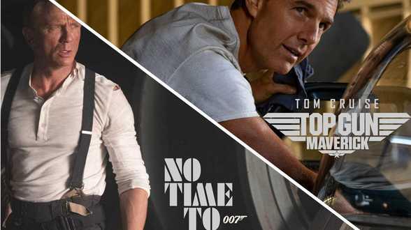 James Bond en Top Gun verschijnen op dezelfde dag in eenzelfde speelfilm. - Actueel