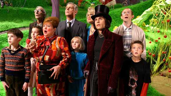 Vanavond op TV: Charlie and the Chocolate Factory - Actueel